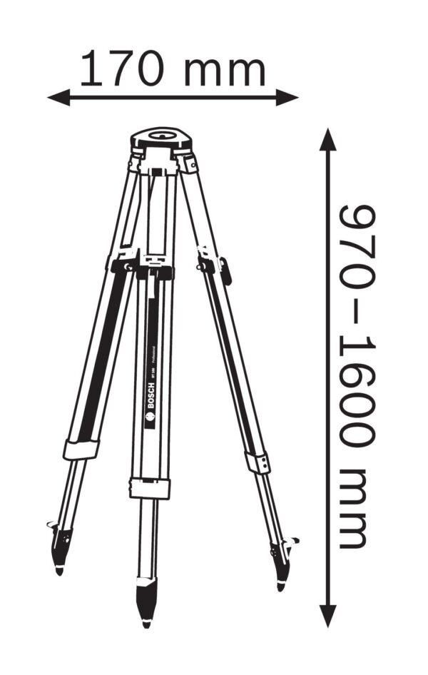 Aluminijumski stativ Bosch nivelir sa stativom prodaja