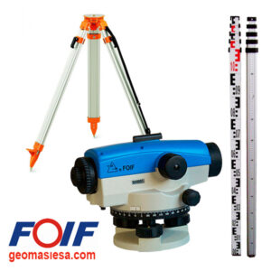 FOIF AL132 Nivelir optički sa stativom i letvom
