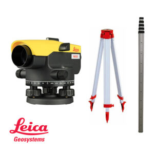 Optički nivelir LEICA NA332 stativ+letva